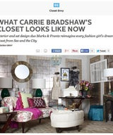 What Carrie Bradshaw's Closet Looks Like Now