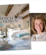 Detroit News cover story on Betty Lou Phillips - secrets to great French Design.