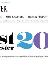 2017 Best of Westchester - Lara Michelle is a Finalist for Interior Design