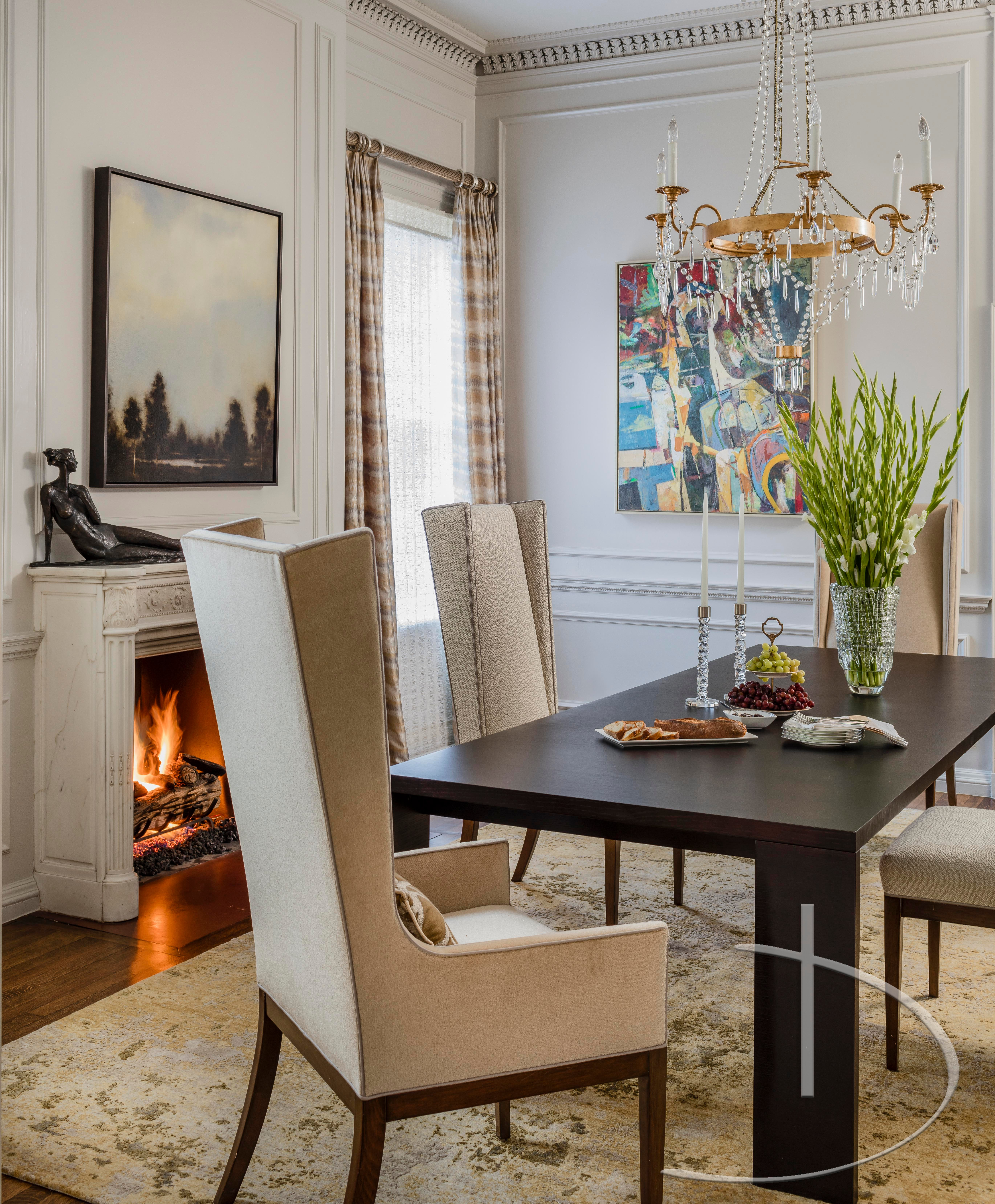 Back Bay Elegance Boston, MA Dining Transitional By Daher Interior Design