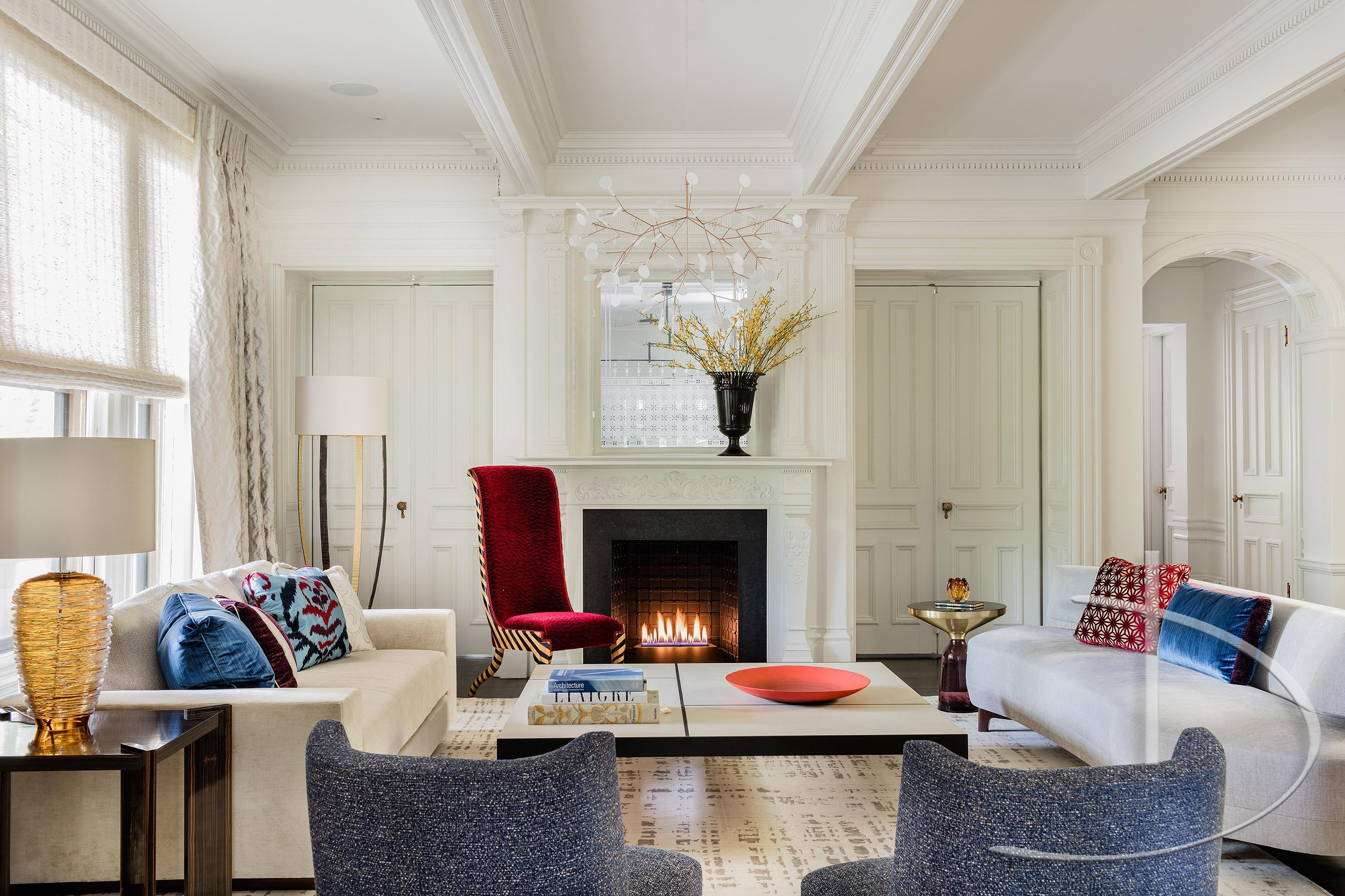 Beau Bold Luxury Boston, MA Dining Transitional By Daher Interior Design