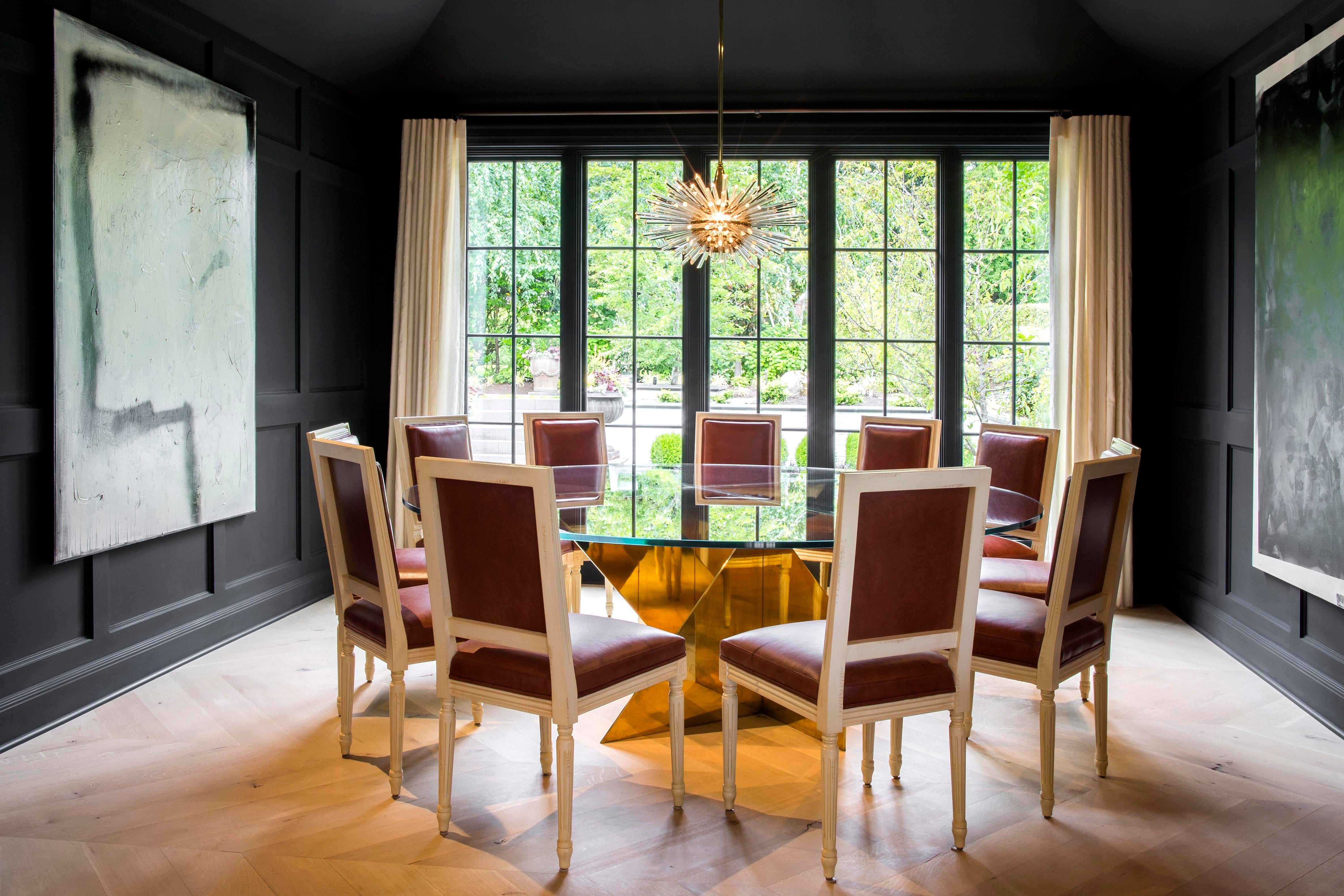Dining Room With Louis XVI Style Dining Chairs From Artistic Frame. Nate  Berkus Associates