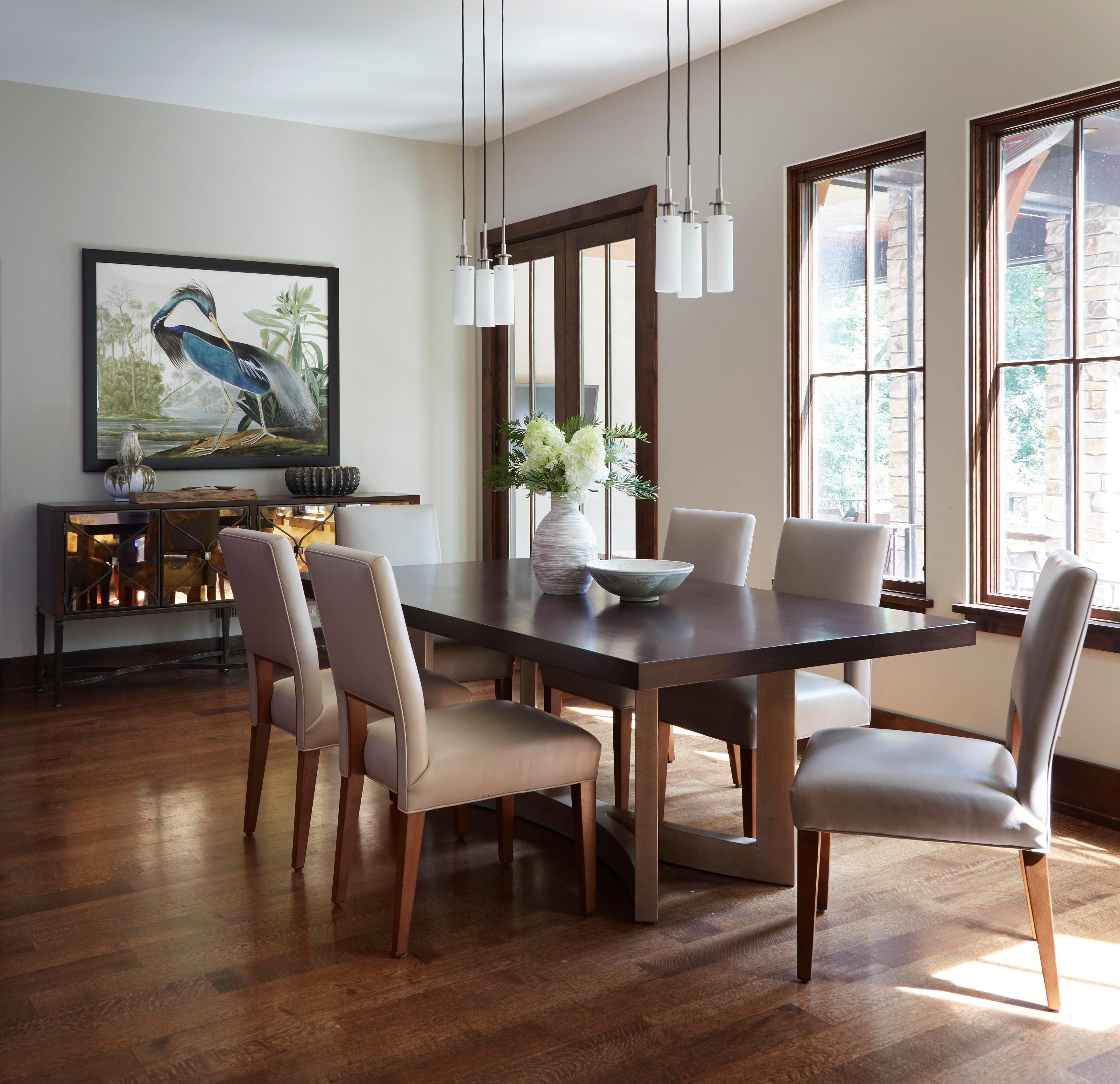 Lovely Mountain Inspired Home Design   Dining