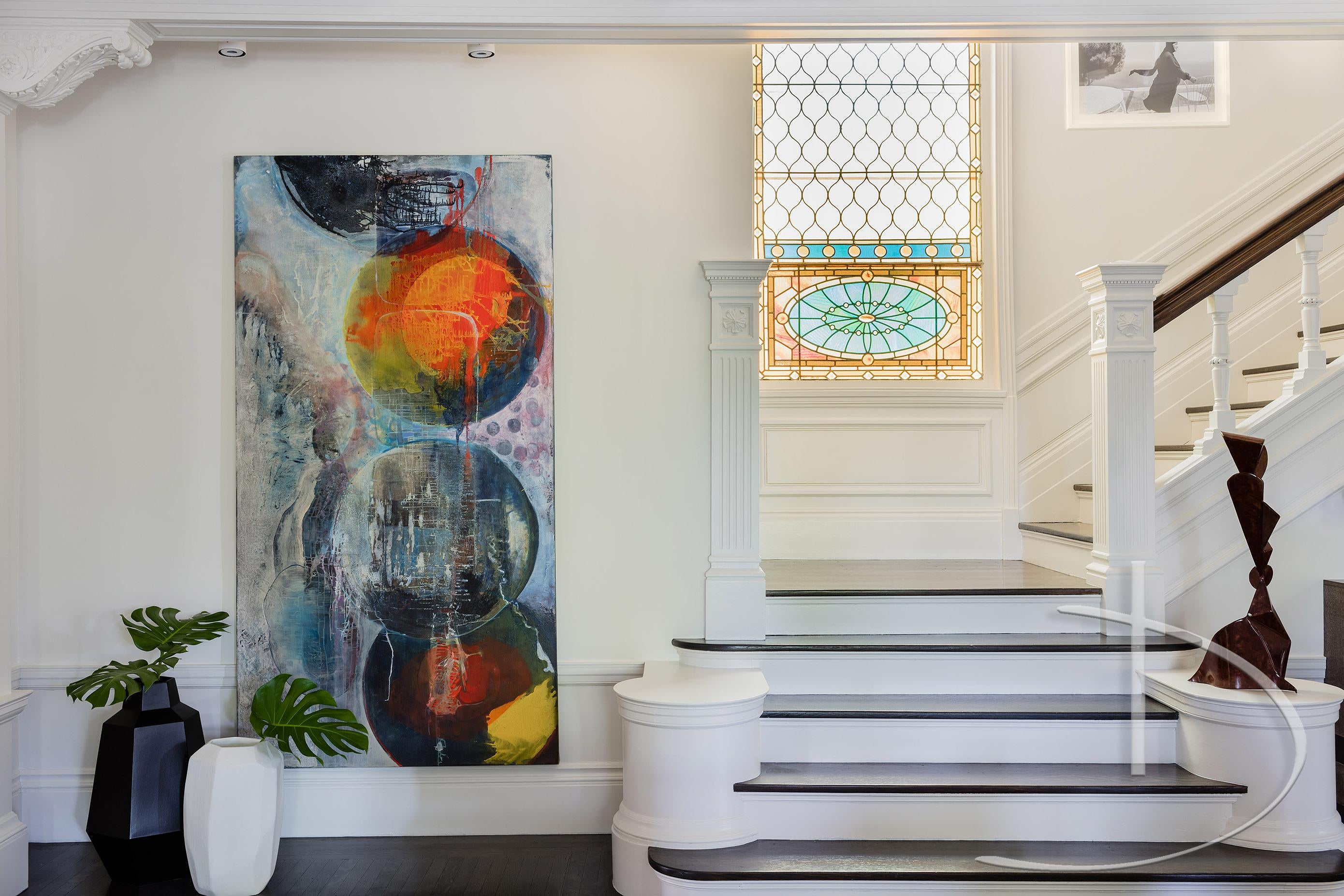 Art For Foyer : Foyers with unique artwork inspiration dering hall