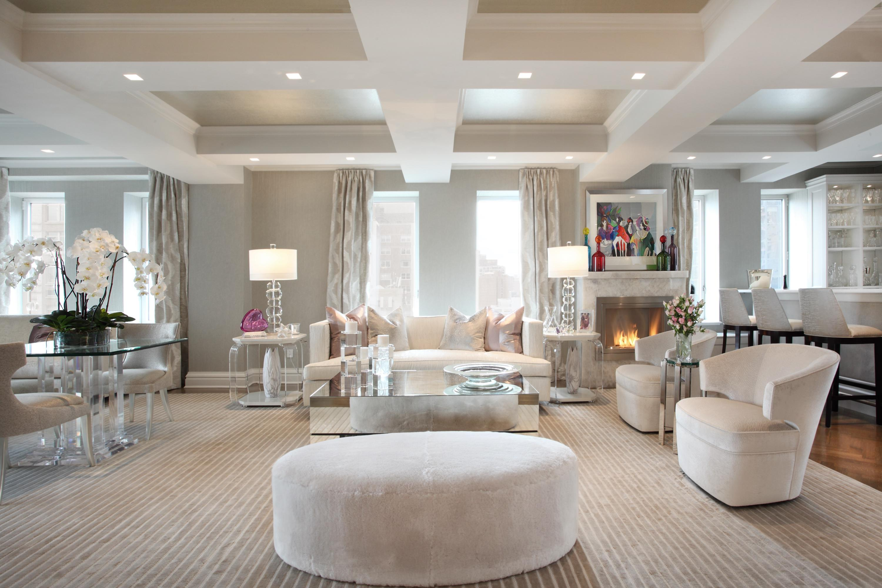 Luxurious apartment penthouse designs inspiration dering hall