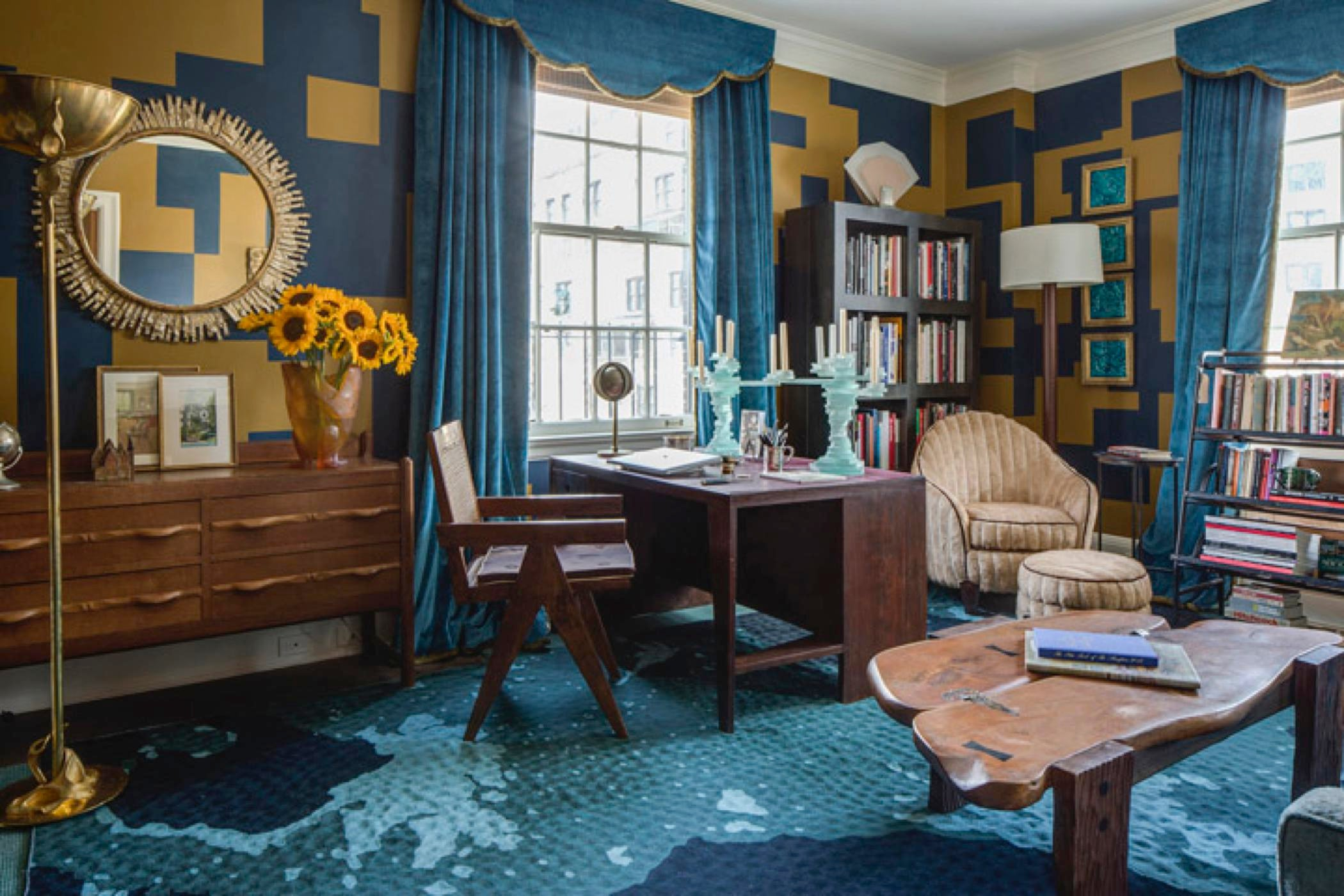 Library for a collector by McMillen Inc Lookbook Dering Hall