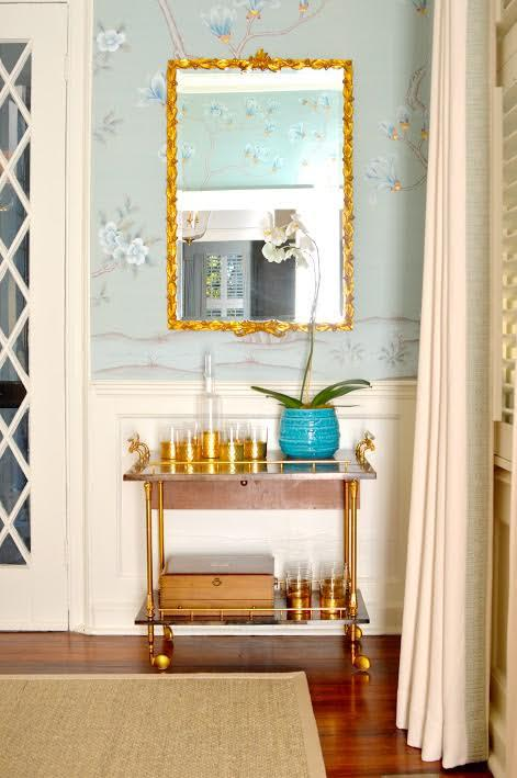 Bar Cart, Always Necessary Dining Contemporary TraditionalNeoclassical By  Charlotte Lucas Interior Design