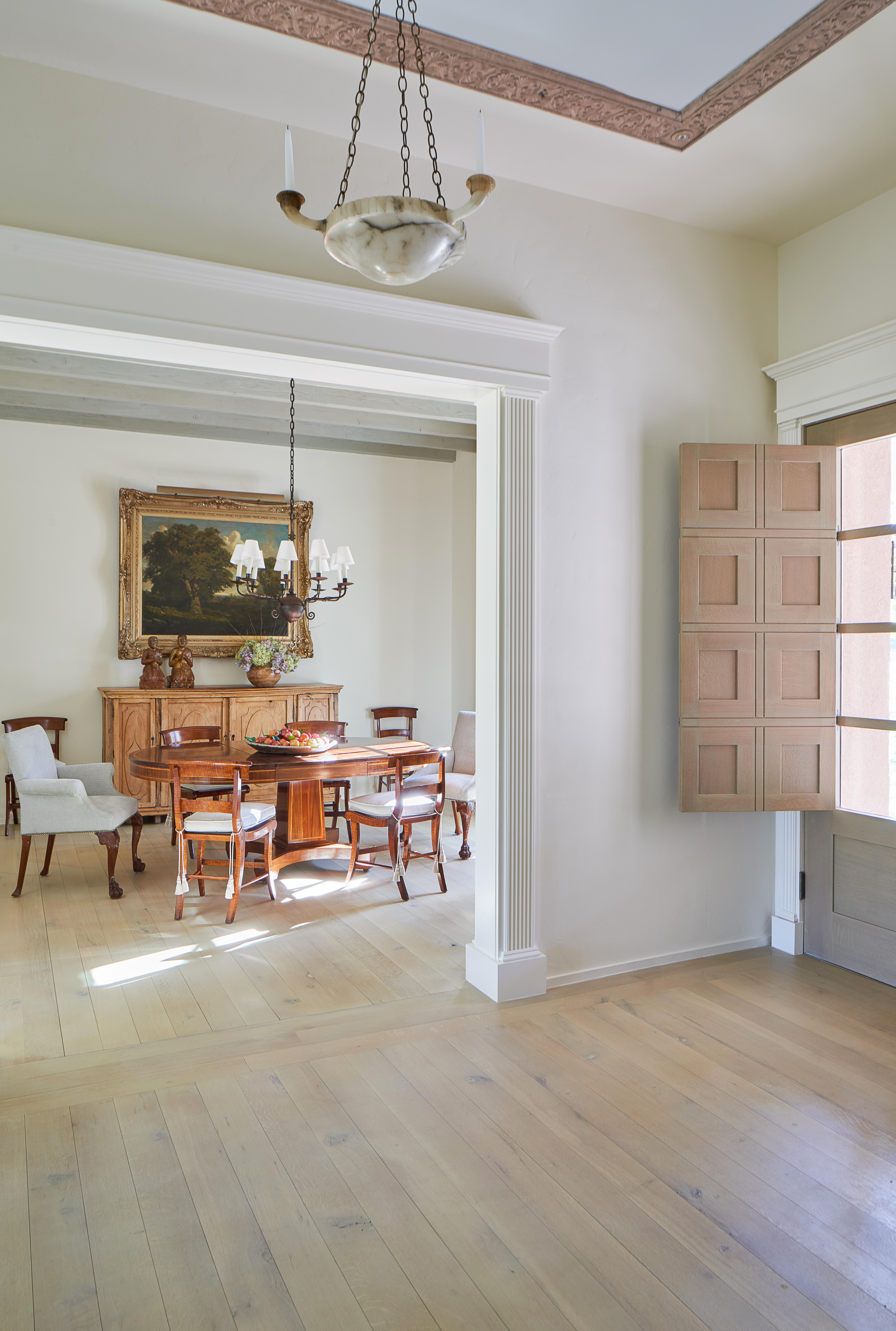 Entry Of A Home In El Paso With Doors Designed By Solis Betancourt U0026  Sherrill