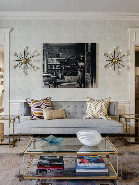 Living Room Living Contemporary by Charlotte Lucas Interior Design & Charlotte Lucas Interior Design - Interior Designer in Charlotte NC ...