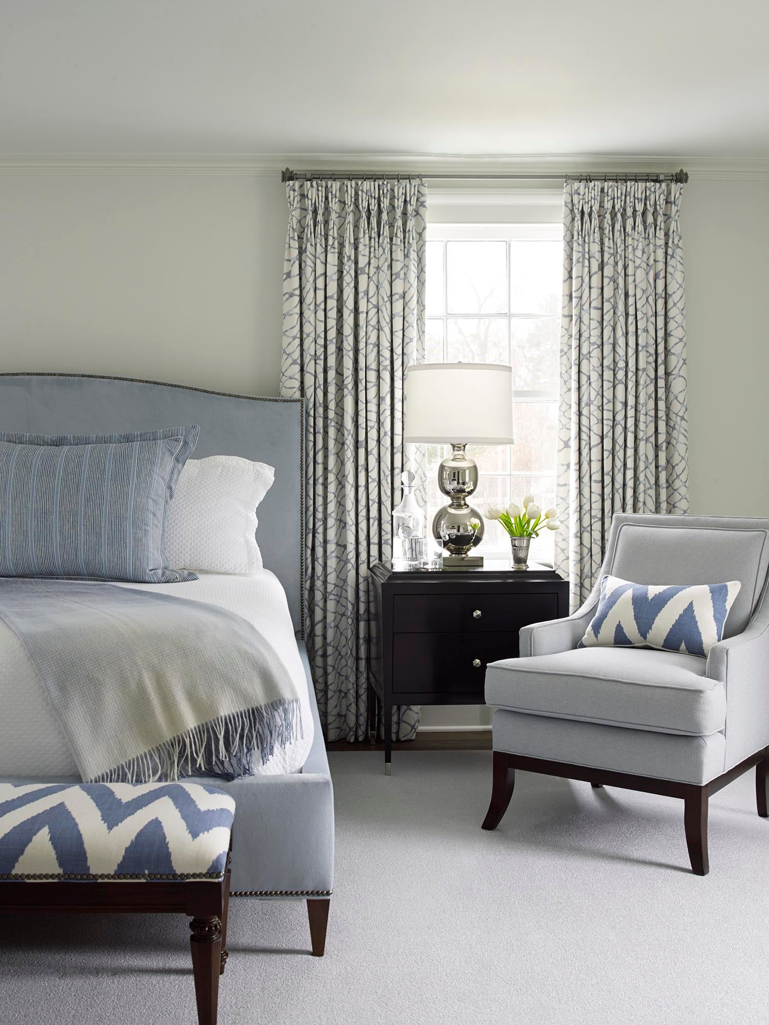 Southport, Connecticut, Master Bedroom Bedroom Transitional By Ken Gemes  Interiors