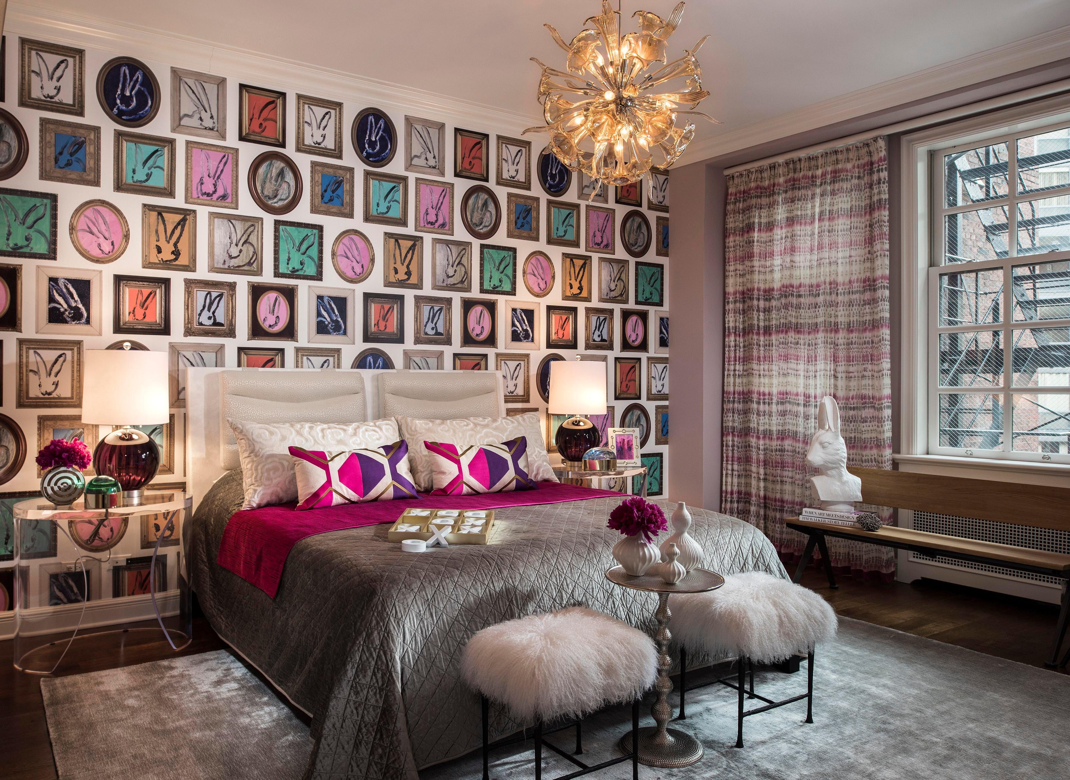 Whimsical Bedroom. Donna Mondi Interior Design