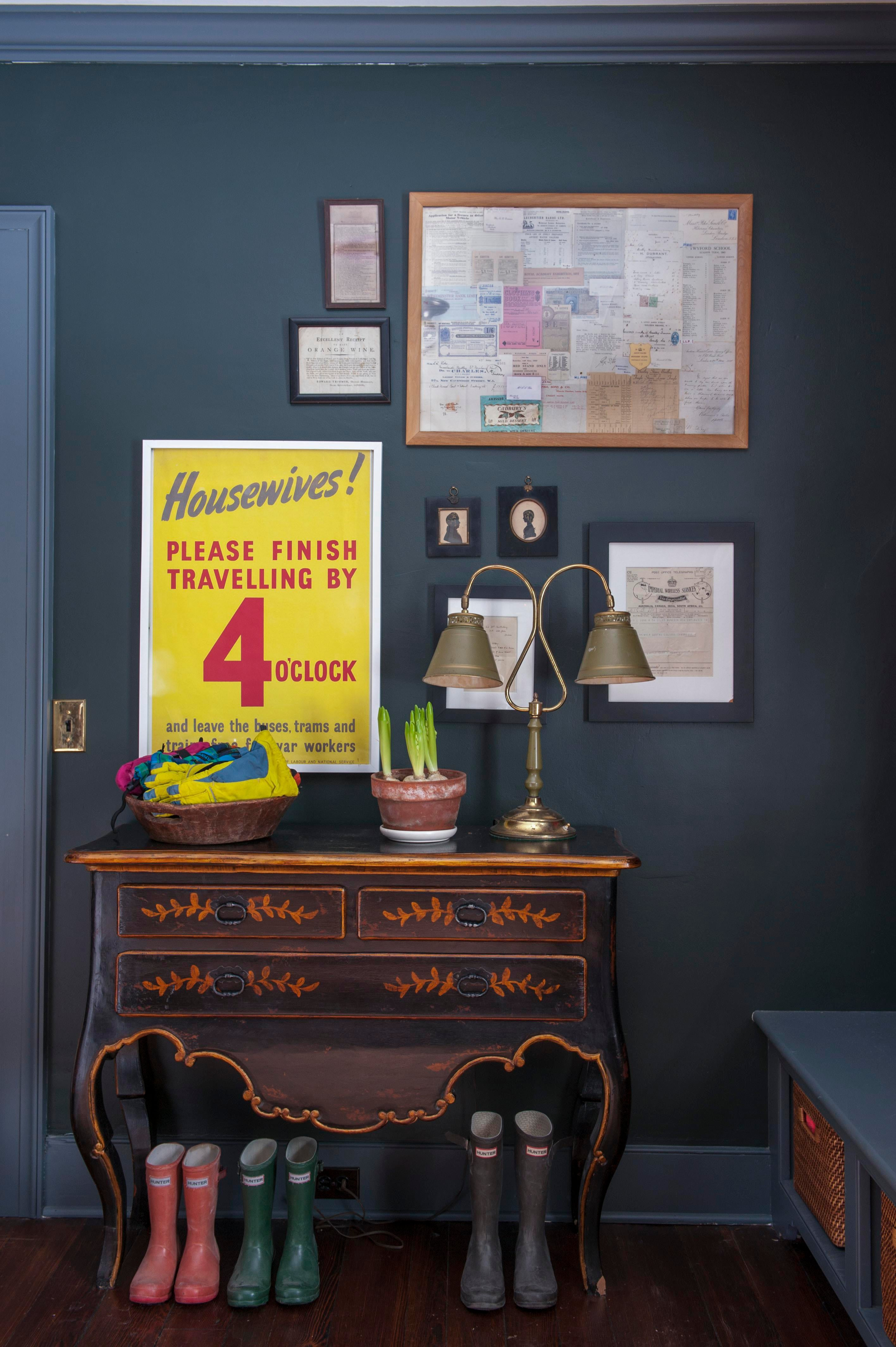 Historic Renovation, Salisbury, CT Foyer Vignette Mudroom Eclectic  Farmhouse By Hendricks Churchill