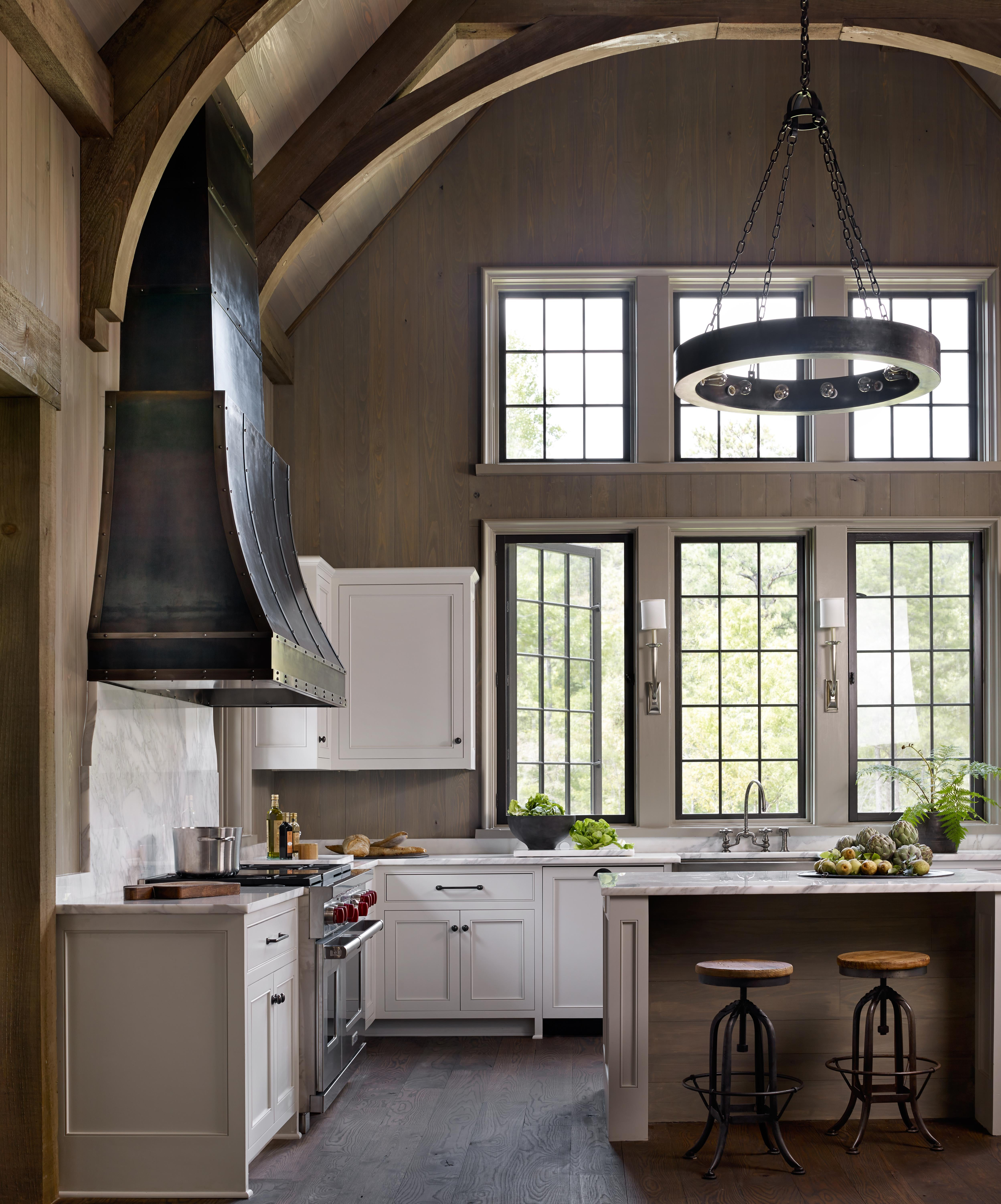 Farmhouse On Shades Creek Kitchen Architectural Details Modern Farmhouse By  Jeffrey Dungan Architects