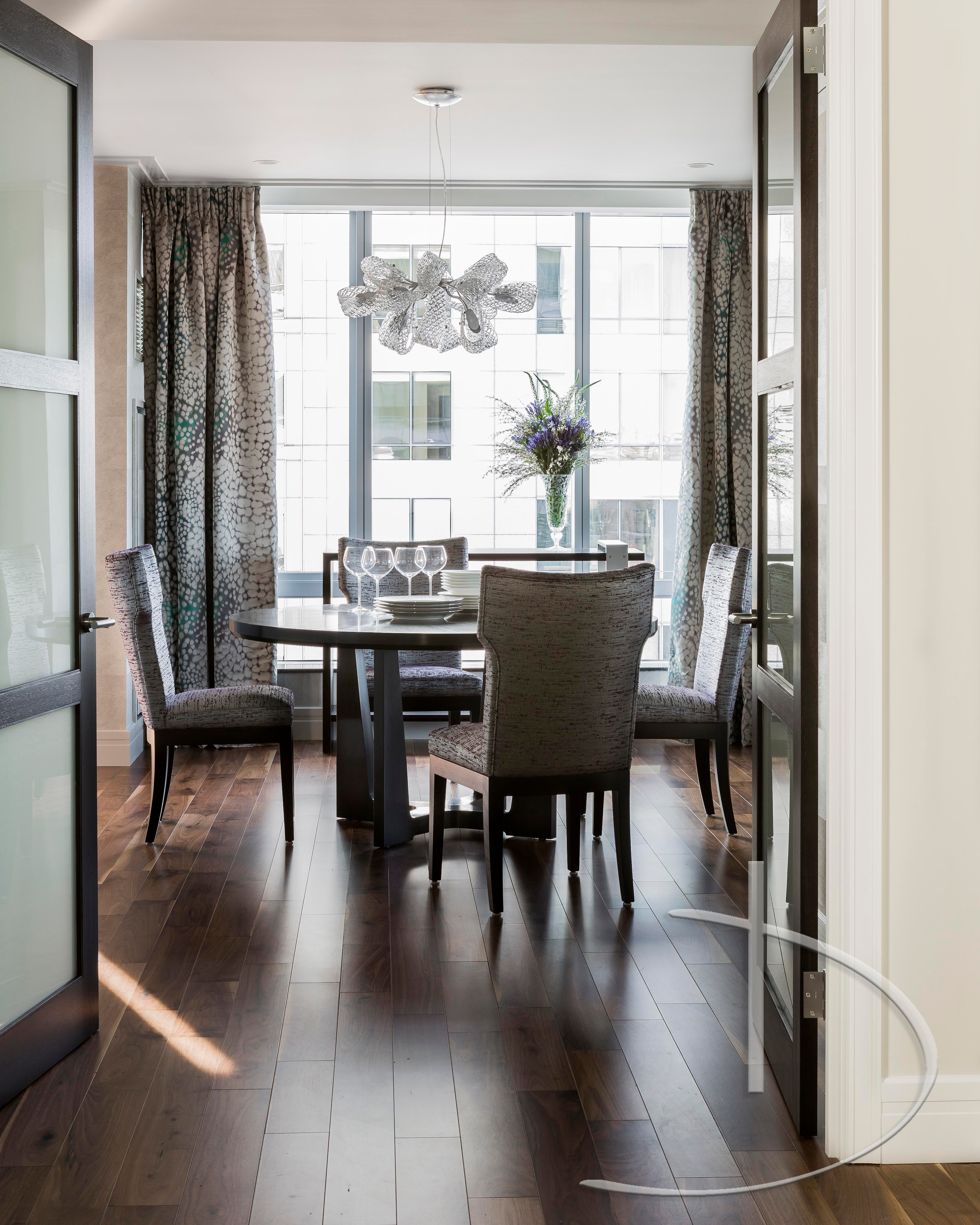 Cityscape Boston, MA Dining Transitional By Daher Interior Design