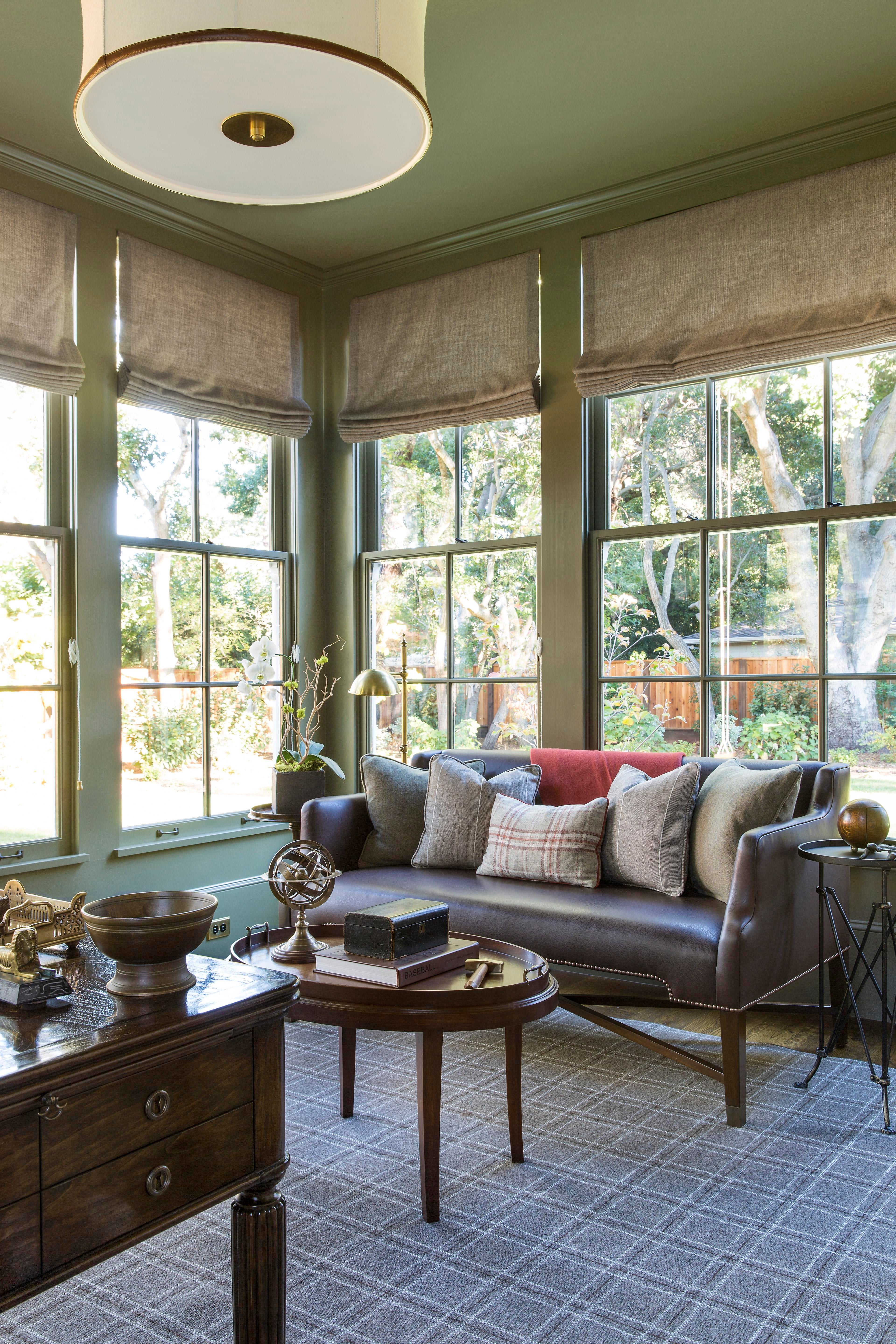 Traditional Office With Playful Art And Layers Of Texture Home Office  TraditionalNeoclassical Transitional By Tineke Triggs