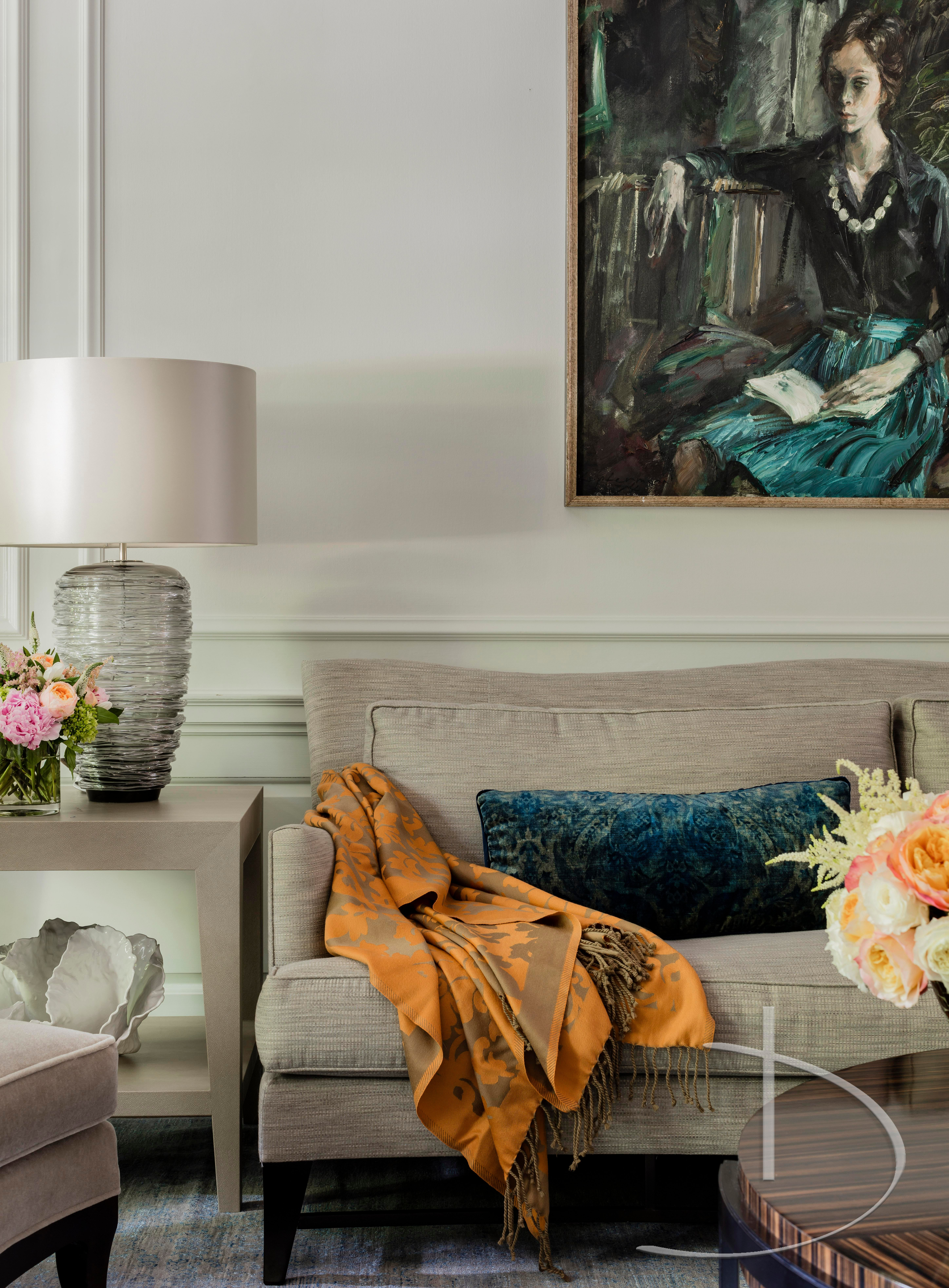 Back Bay Elegance Boston, MA Library Transitional By Daher Interior Design