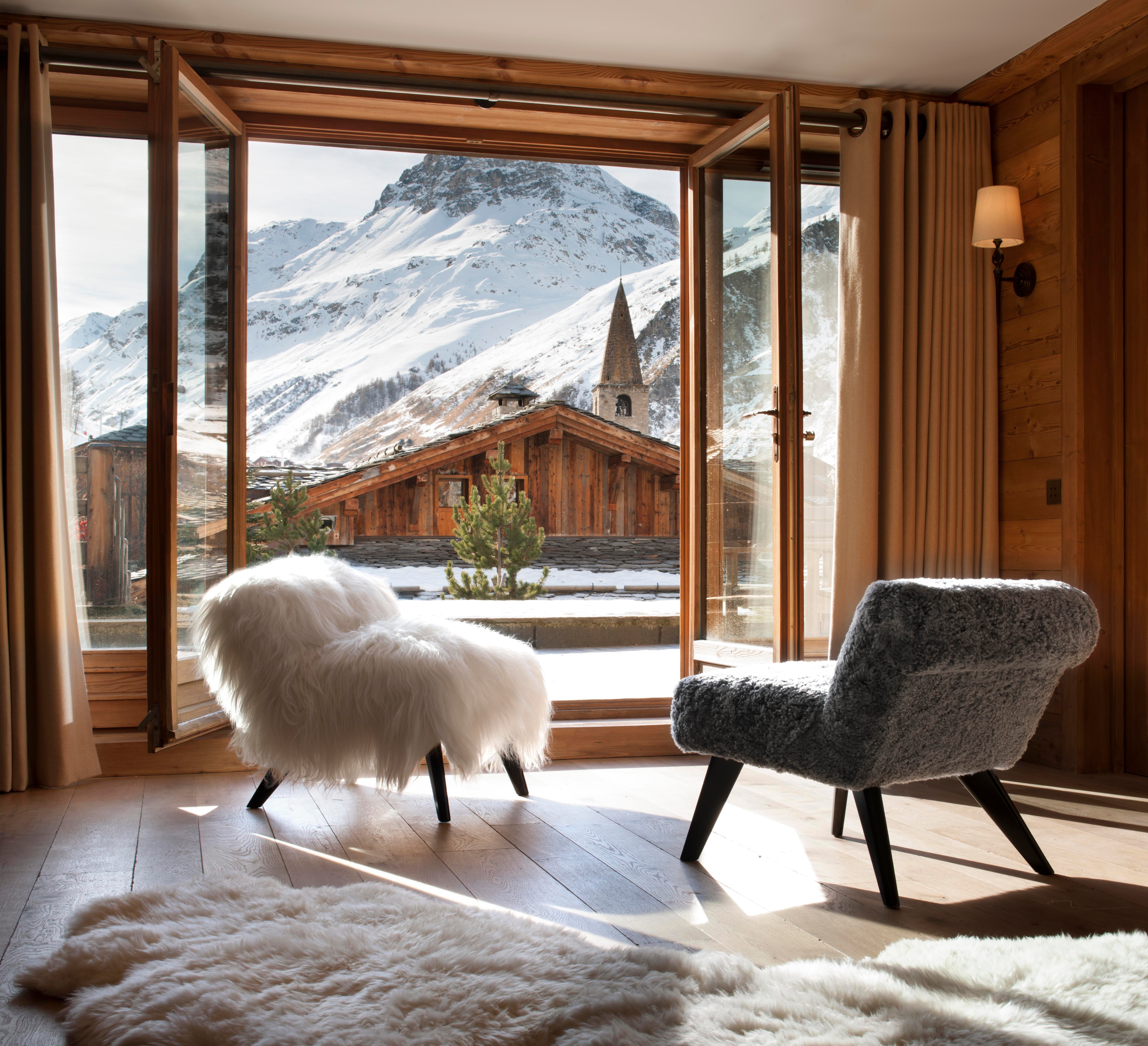 The ND Collection Of Chairs Photographed In The French Alps