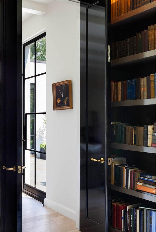 Contemporary Library Interiors Design Portfolio and Lookbook