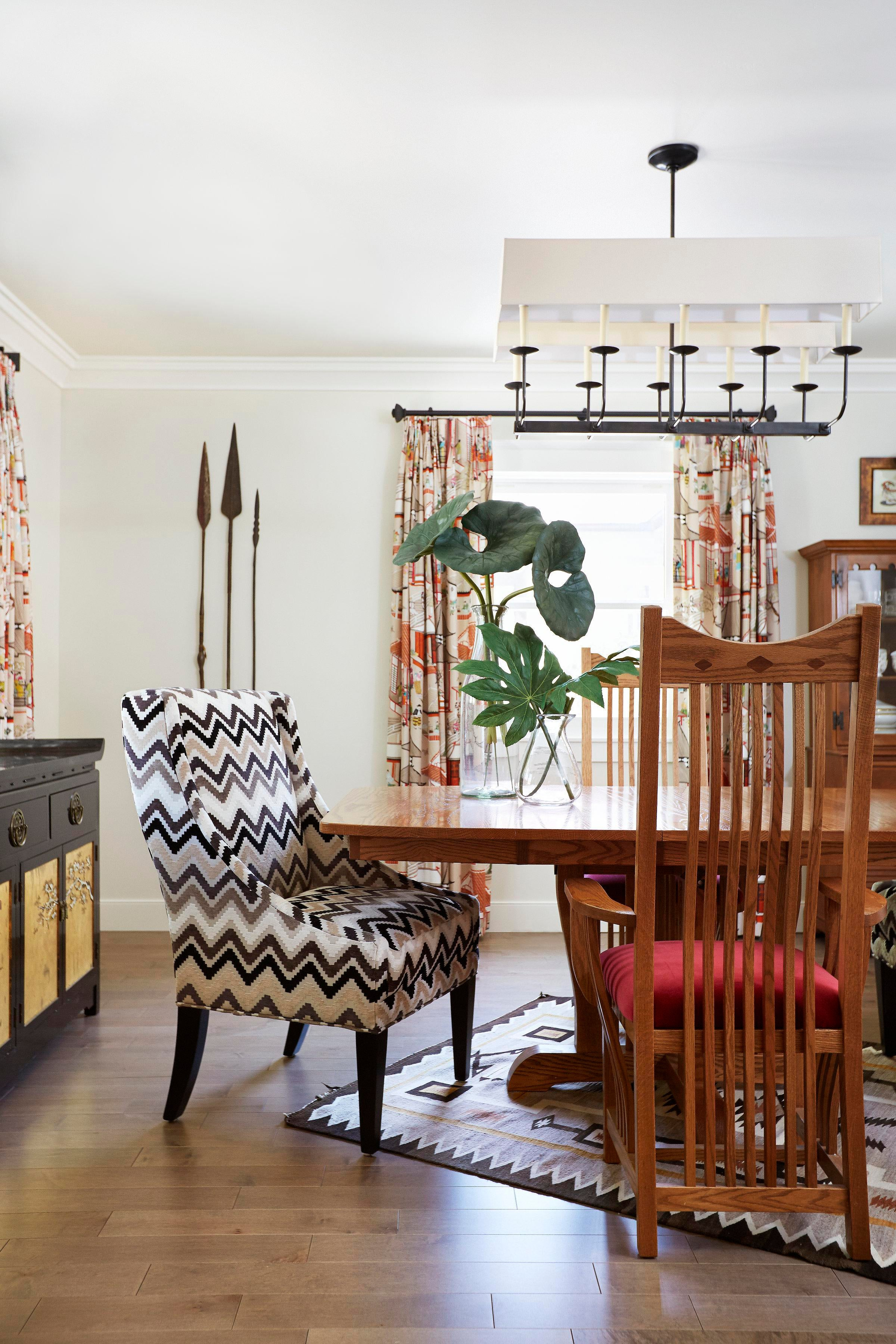 Eclectic Modern Dining Room In An Updated Craftsman Style Home In Sacramento,  CA Dining Architectural