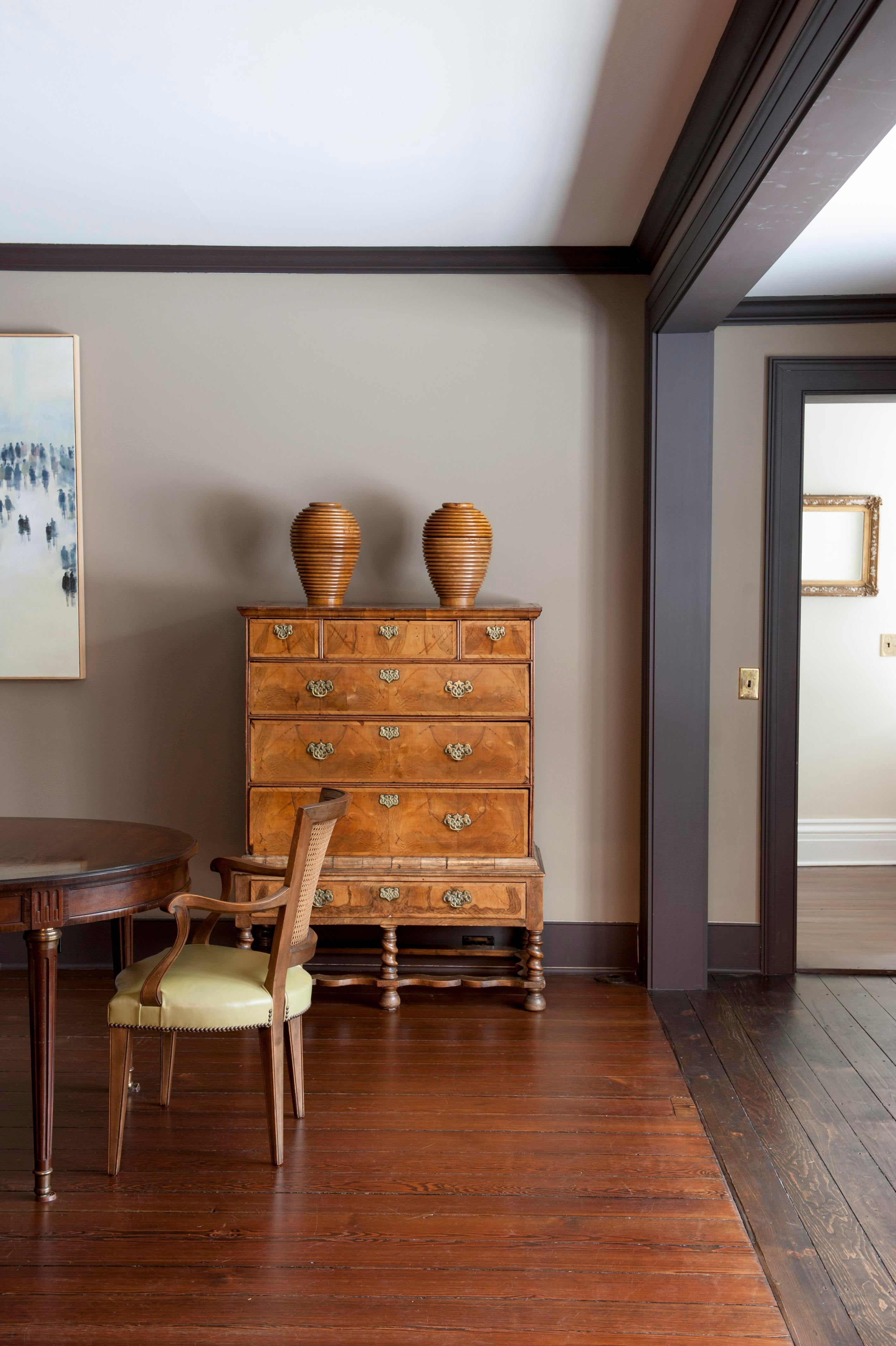 Historic Renovation, Salisbury, CT Dining Architectural Detail Design  Detail American Architectural Details Farmhouse By