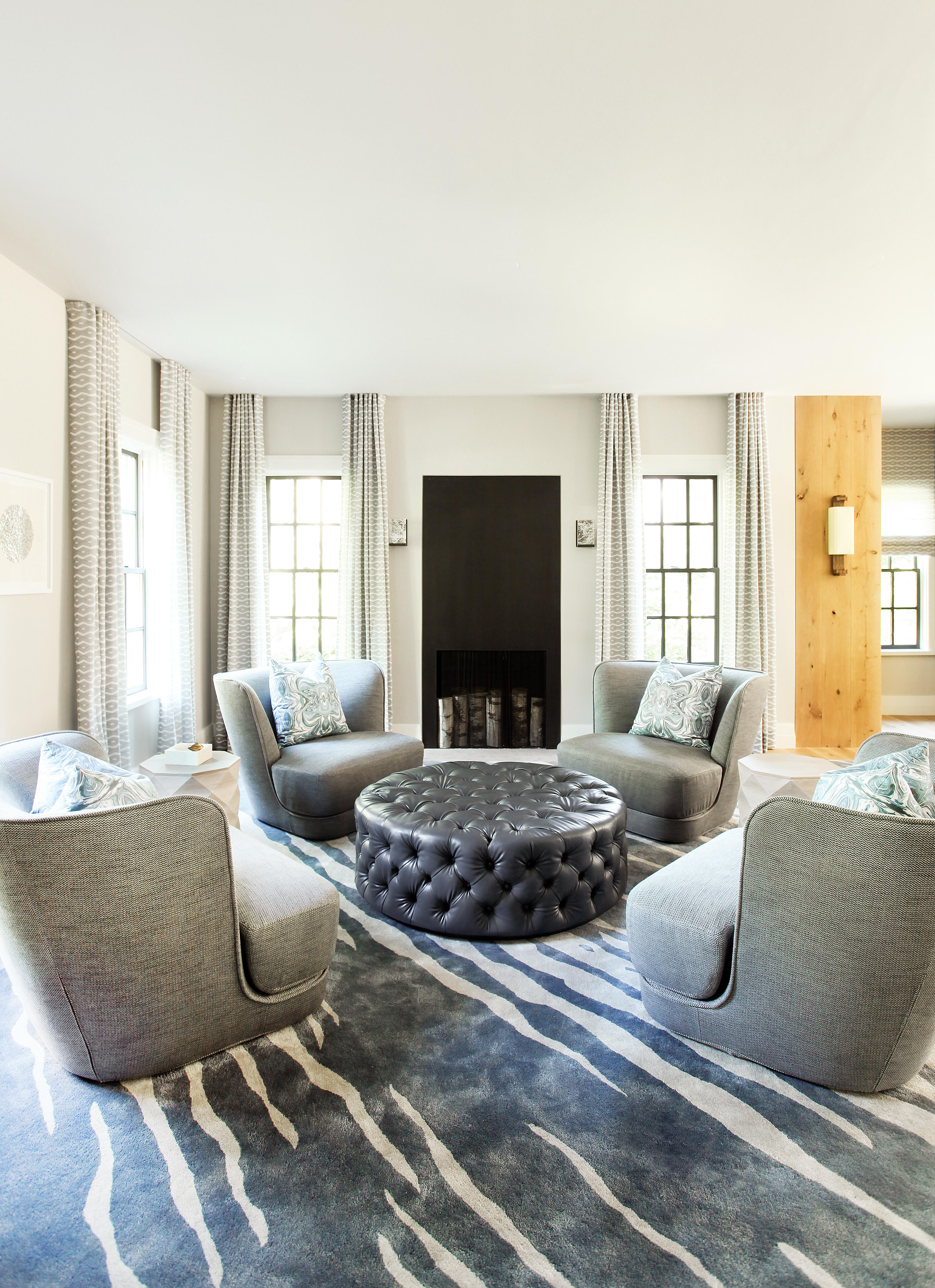 Living Room Boston Project Living Living Contemporary Contemporary By Cara Woodhouse  Interiors LLC
