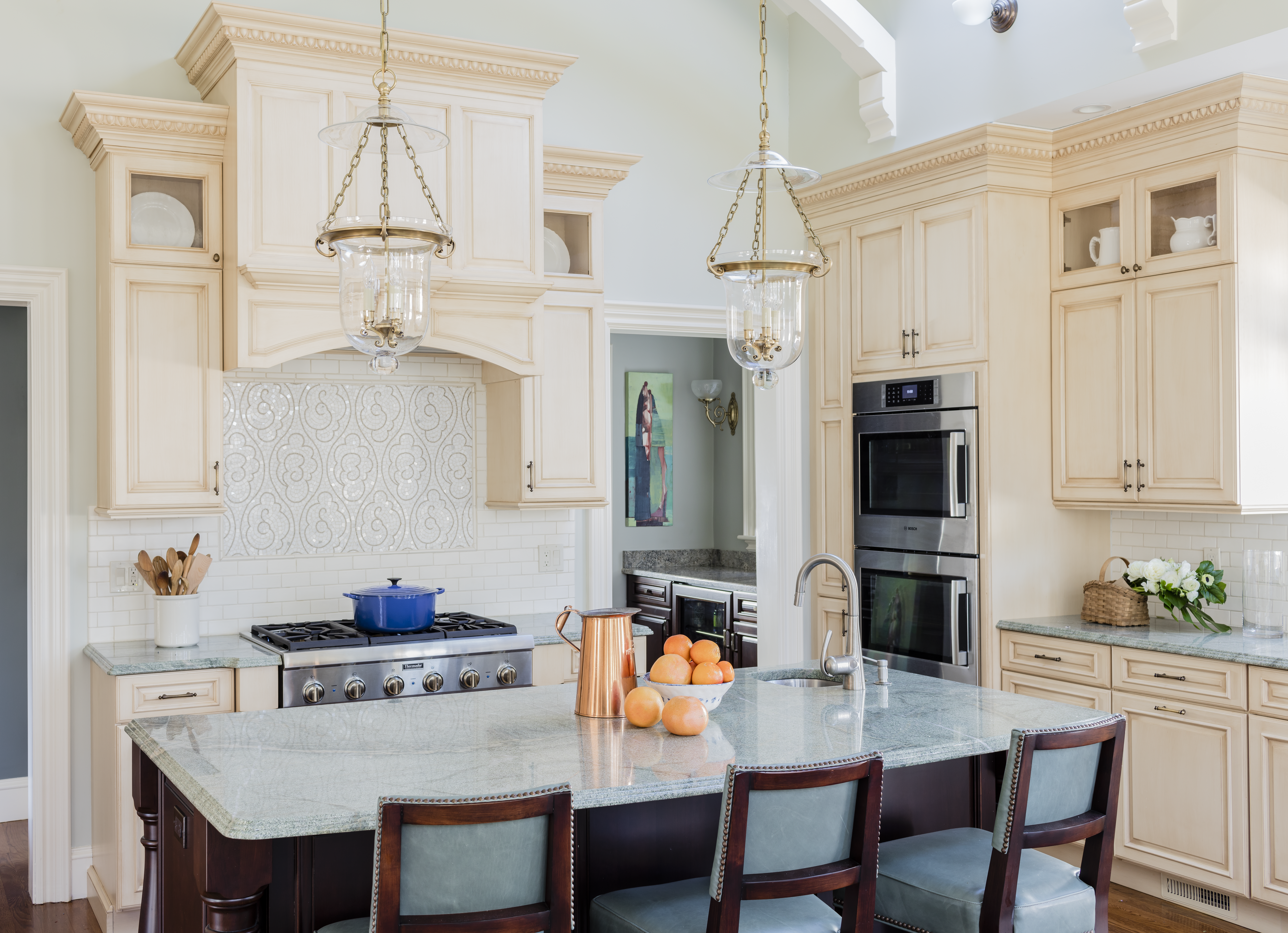 27 Kitchens With Statement Hoods   Inspiration   Dering Hall