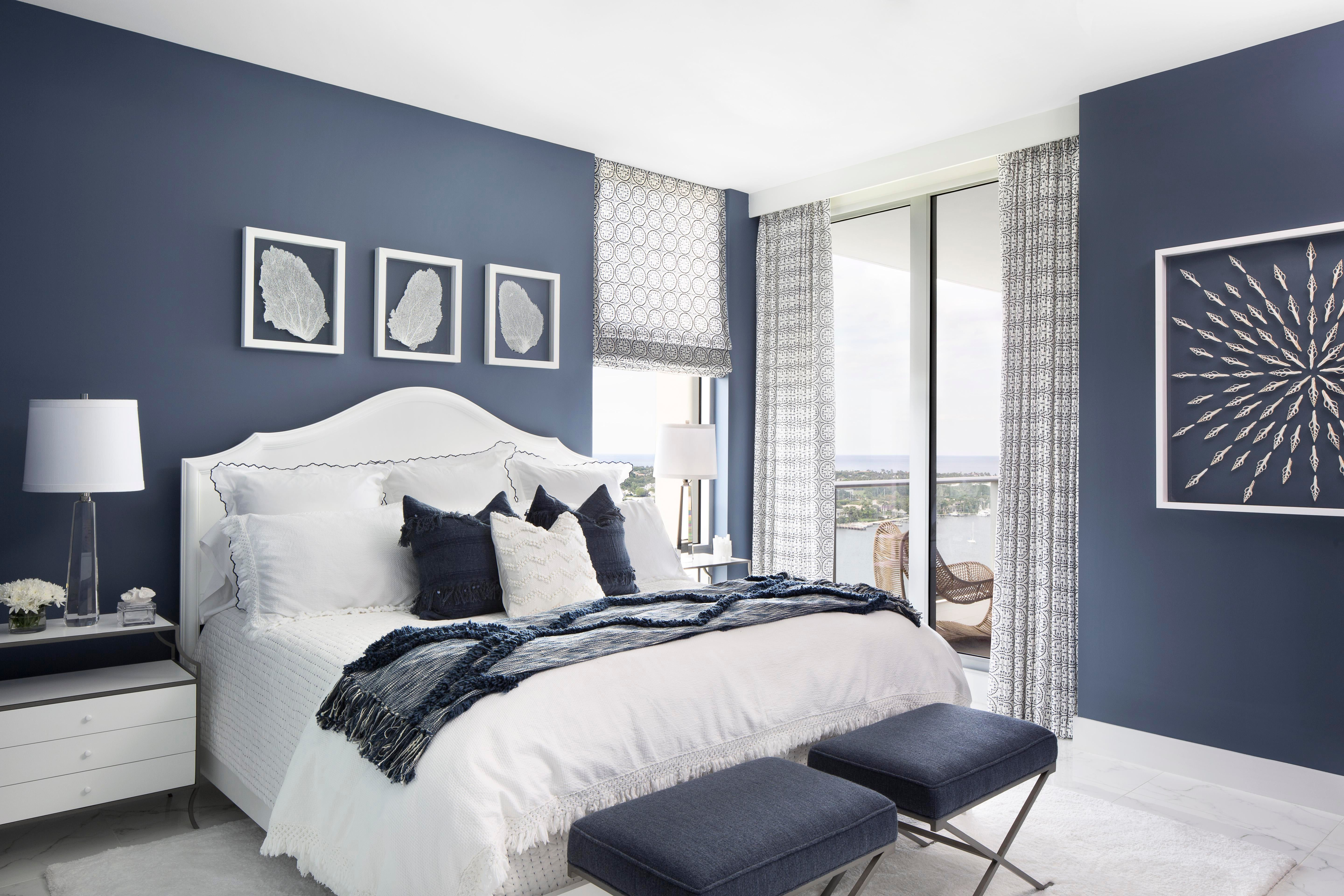Oceanside Retreat Vacation Residence Bedroom Contemporary Eclectic Coastal  By Lisa Michael Interiors