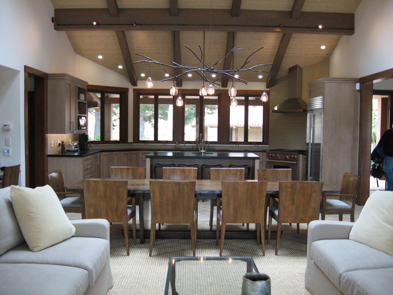 modern hacienda nicasio ca great room by holly a kopman rh deringhall com