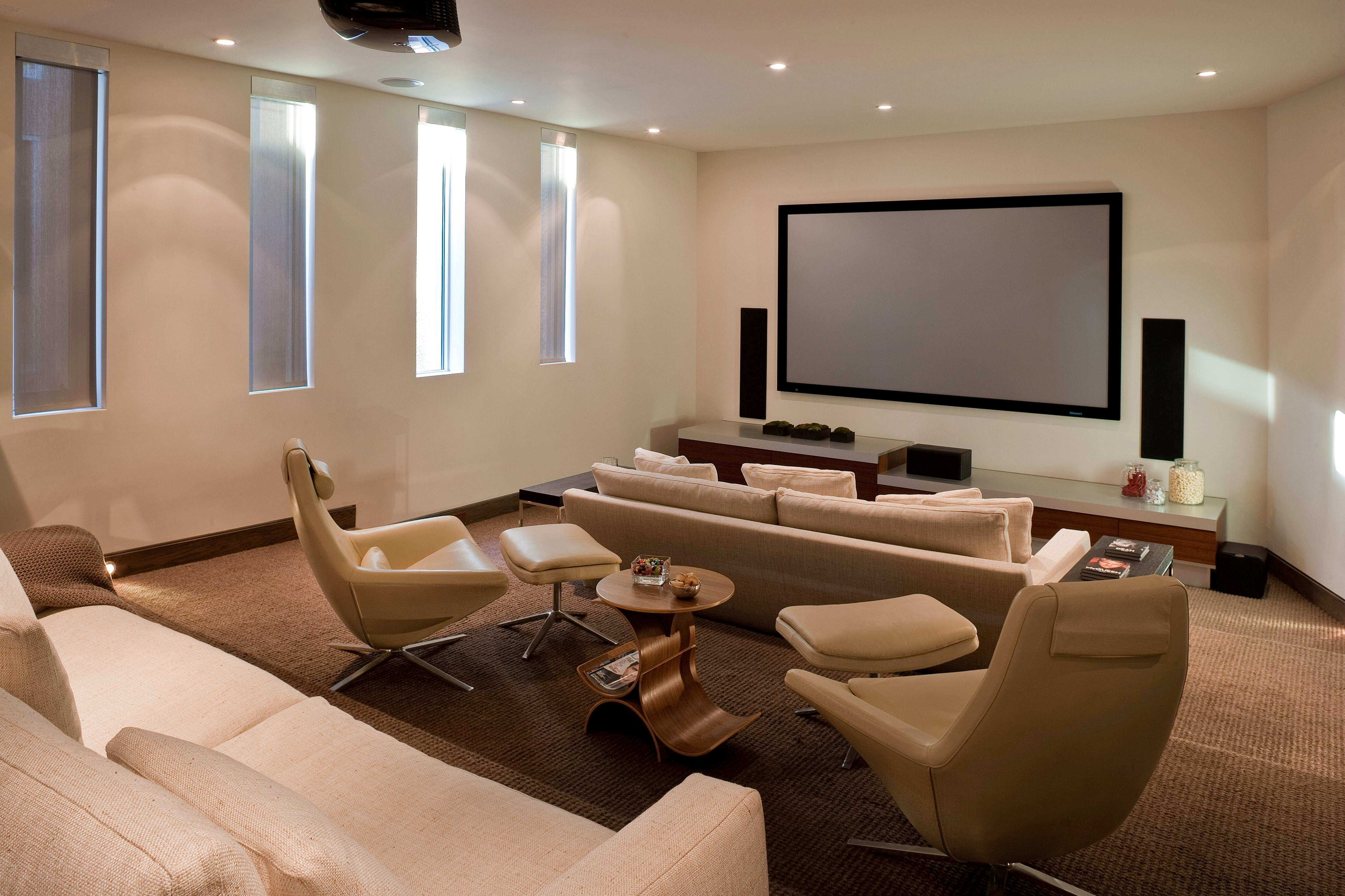24 Stylish Media Rooms Inspiration Dering Hall