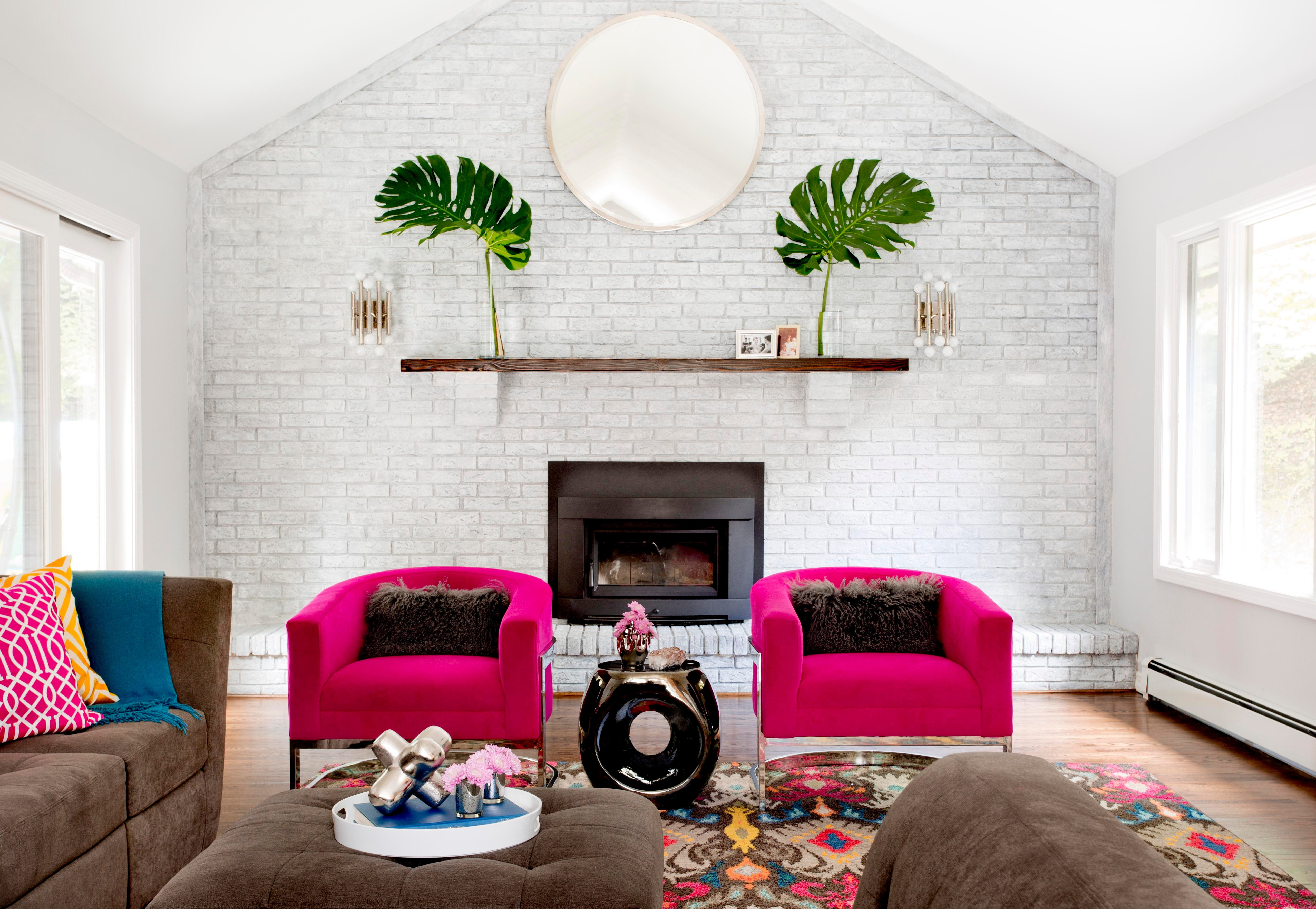 Mod, Kid Friendly Living Room   Pleasantville, New York. Caroline Kopp Interior  Design