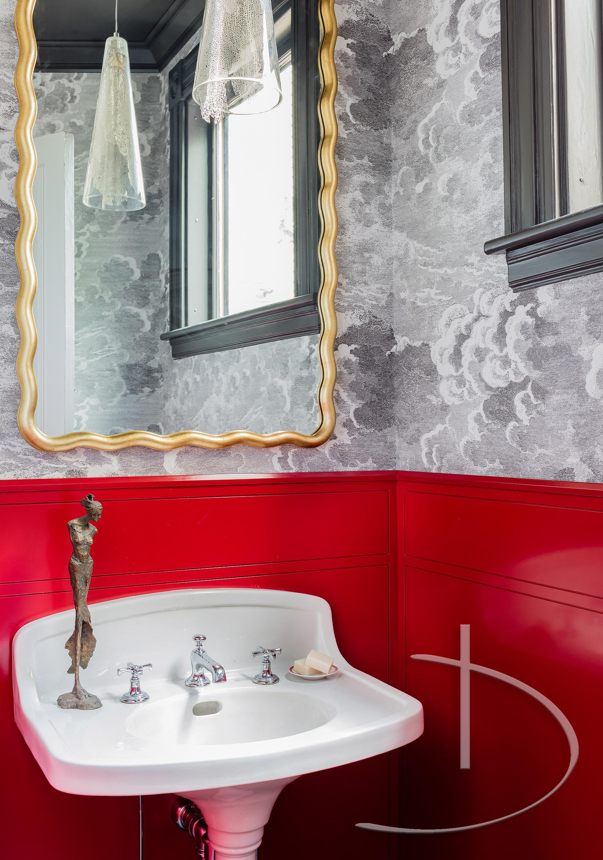 Bold Luxury Boston, MA Bath Contemporary Modern Transitional By Daher  Interior Design