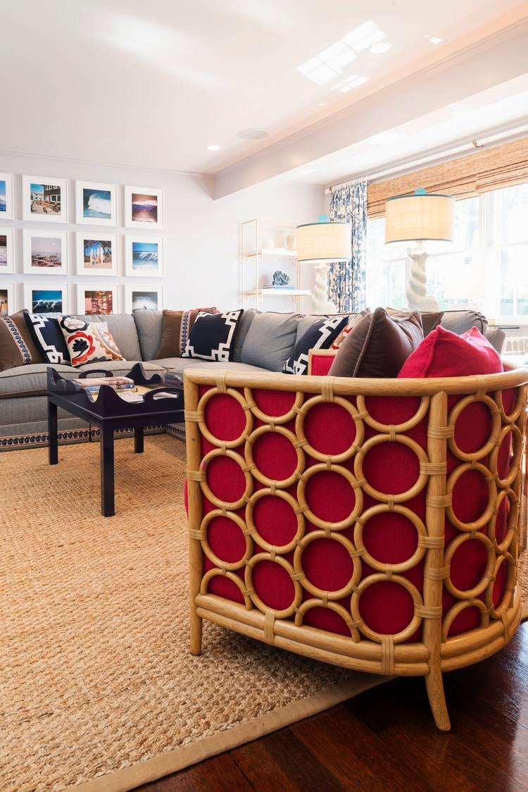 Severna Park, MD Living Family Room MidCenturyModern American Cottage  Eclectic Coastal By Johnson Sokol Interior