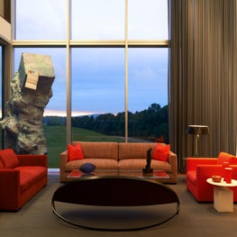 Living Room for an art collector in upstate New York
