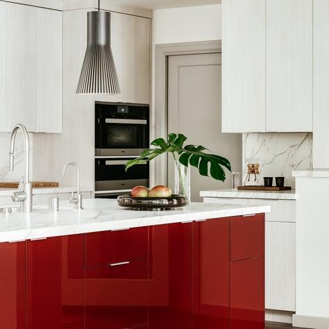Kitchen, Contemporary Tudor Project, Woodside, CA