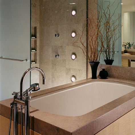 Michigan Avenue Apartment Bath