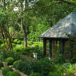 Summer House, South Boulevard Residence & Gardens, Houston, Texas