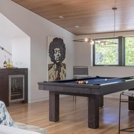 "Game Room, ""Modern in the Redwoods"" Mill Valley, California"