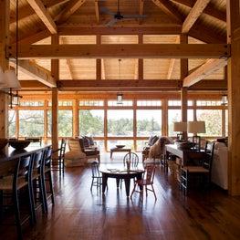 Pointe Au Baril - Living Room