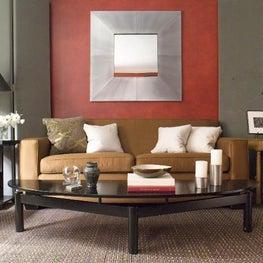 A New York City living room.