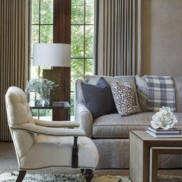eclectic transitional Living Room in Aspen