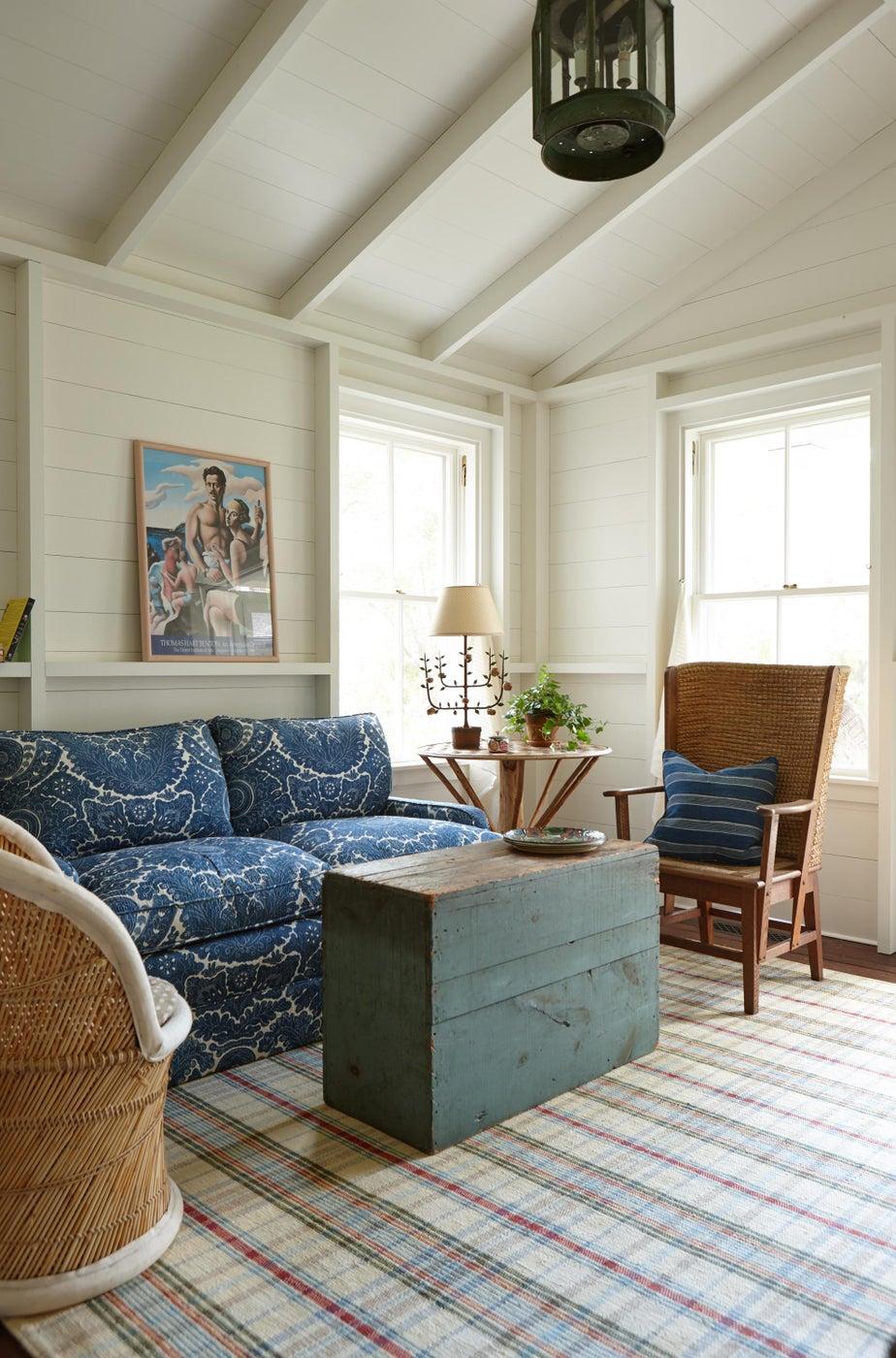 Cottage living room.