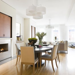 Dining Room in a Logan Circle rowhouse