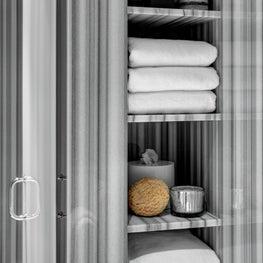 Ritz Carlton Residences, Boston; Marble Bath detail