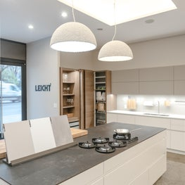 Duchess Pendant Lamps in white - MB Collection - GKC kitchen showroom NYC
