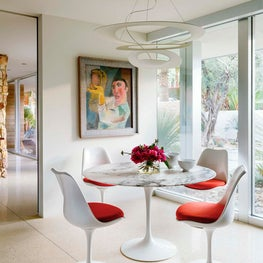 Palm Springs Home - Breakfast Table