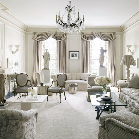 Classical Drawing Room - 18th and 21st Century