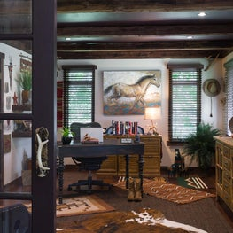 Equestrian Inspired Home Office
