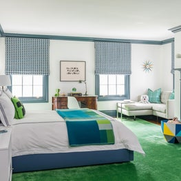 Boy's Bedroom Inspired by Minecraft