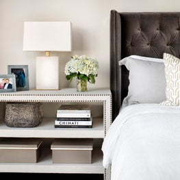 Soft Modern Master Bedroom - Austin City Lofts, Austin, TX
