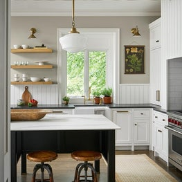 English country style kitchen in Chicago
